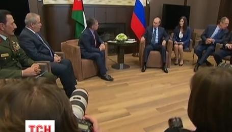 Первые комментарии Путина о сбитом самолете на границе с Турцией
