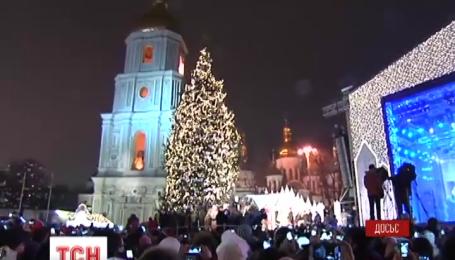 В Киеве зимние праздники теперь будут проводиться от Софийской до Михайловской площади
