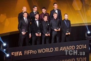 ФІФА назвала 55 претендентів на потрапляння у символічну збірну 2015 року