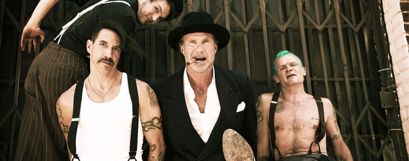 Легендарний Red Hot Chili Peppers відіграє концерт у Києві