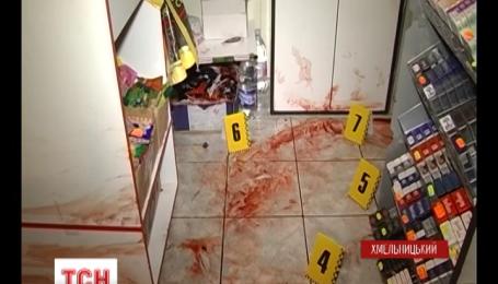 В Хмельницком задержали мужчину, который из огнестрельного оружия расстрелял людей в магазине