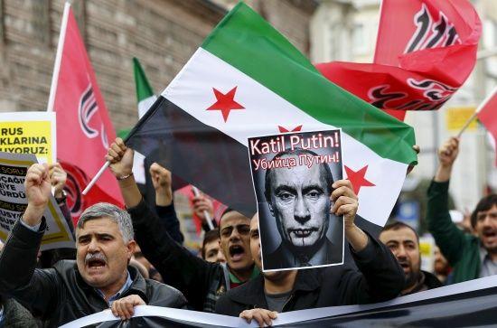 Росія помстилася повстанцям за загибель свого військового пілота в Сирії