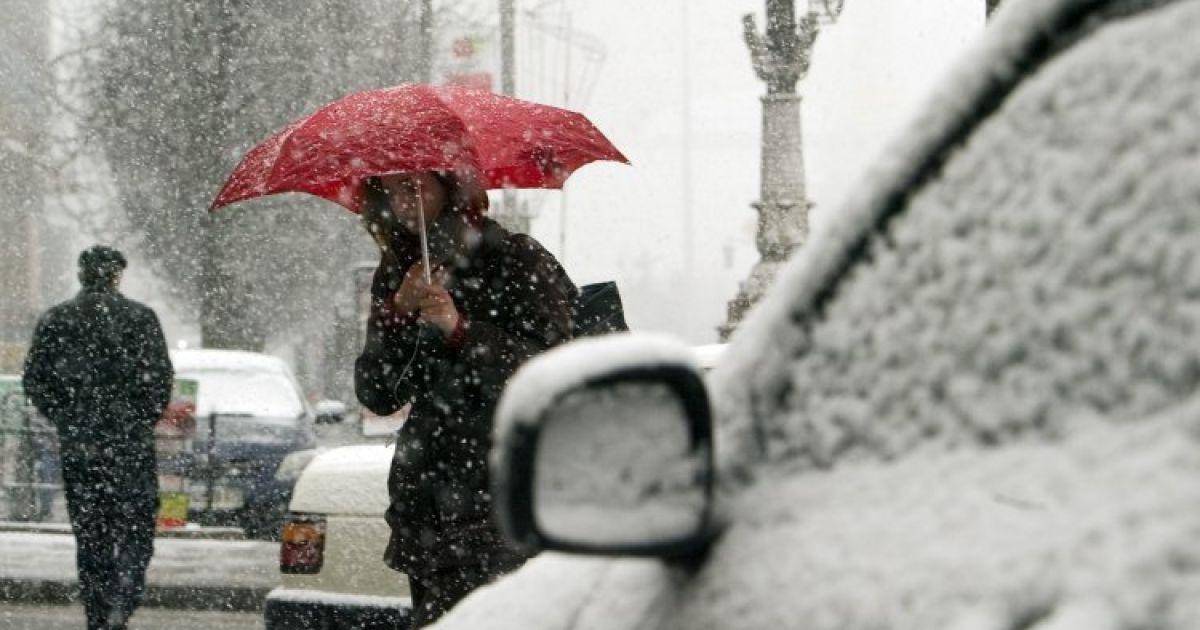 Мокрый снег, гололед и лавинная опасность в Карпатах. Прогноз погоды в Украине на 14 января