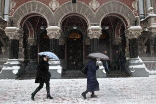 Україну засипле мокрим снігом, а в Карпатах - небезпека сходу лавин
