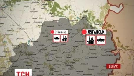 На Донбассе террористы активно обстреливают позиции украинских Вооруженных сил