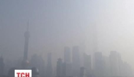 Рекордный смог окутал Пекин
