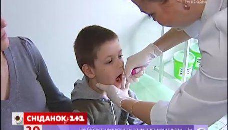 В Украине начинается второй тур иммунизации против полиомиелита