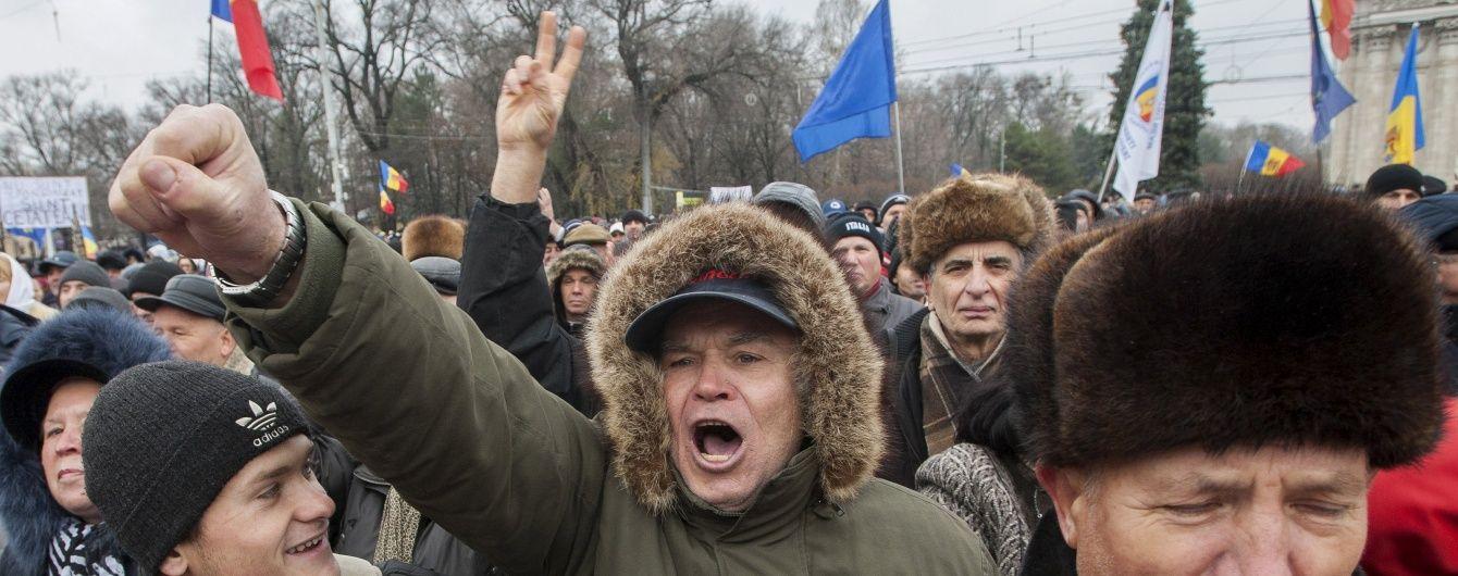 Чим загрожують Україні протести в Молдові