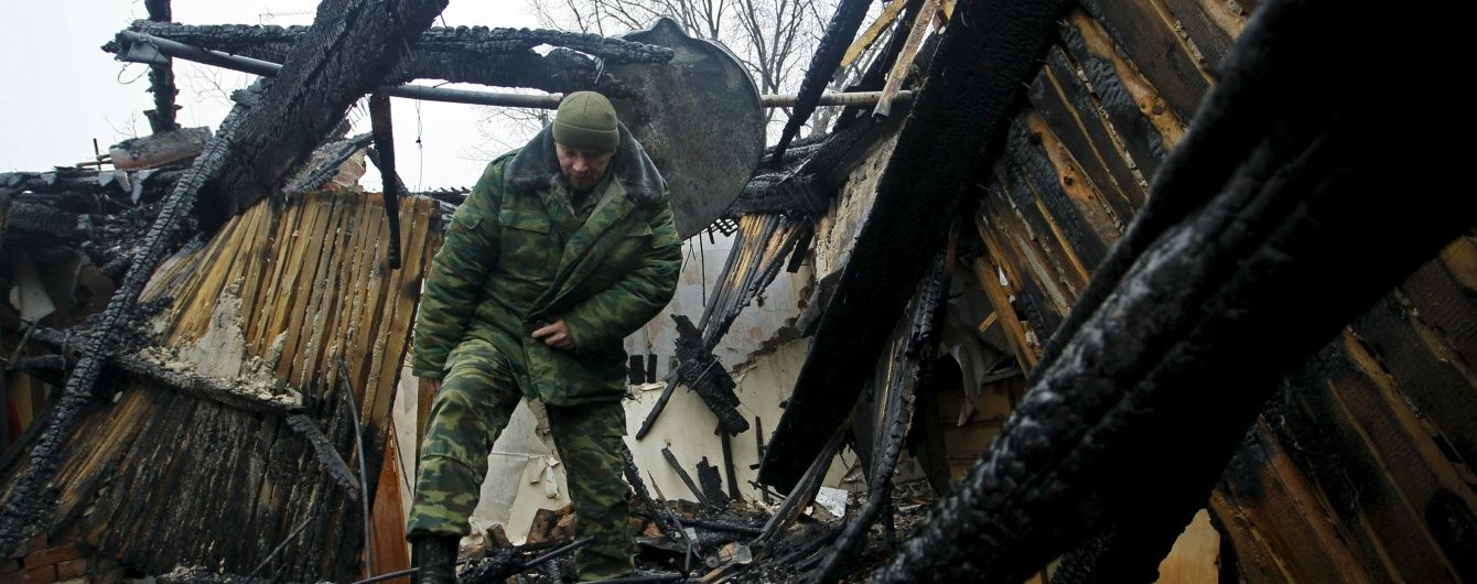 Біля Горлівки місцеві жителі побили п'яного російського військового