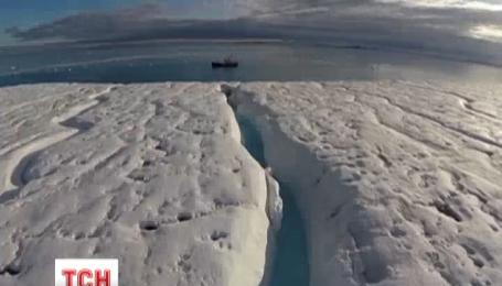 Полярный лед тает быстрее, чем прогнозировалось