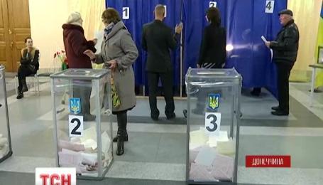 В прифронтовом Красноармейске Донецкой области подсчитали все голоса