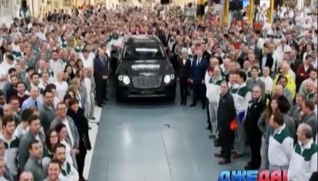 Британской королеве принадлежит единственный на планете кроссовер Bentley
