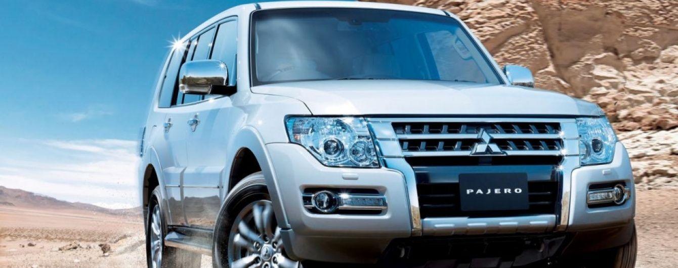 Mitsubishi Pajero появится в обновленном виде