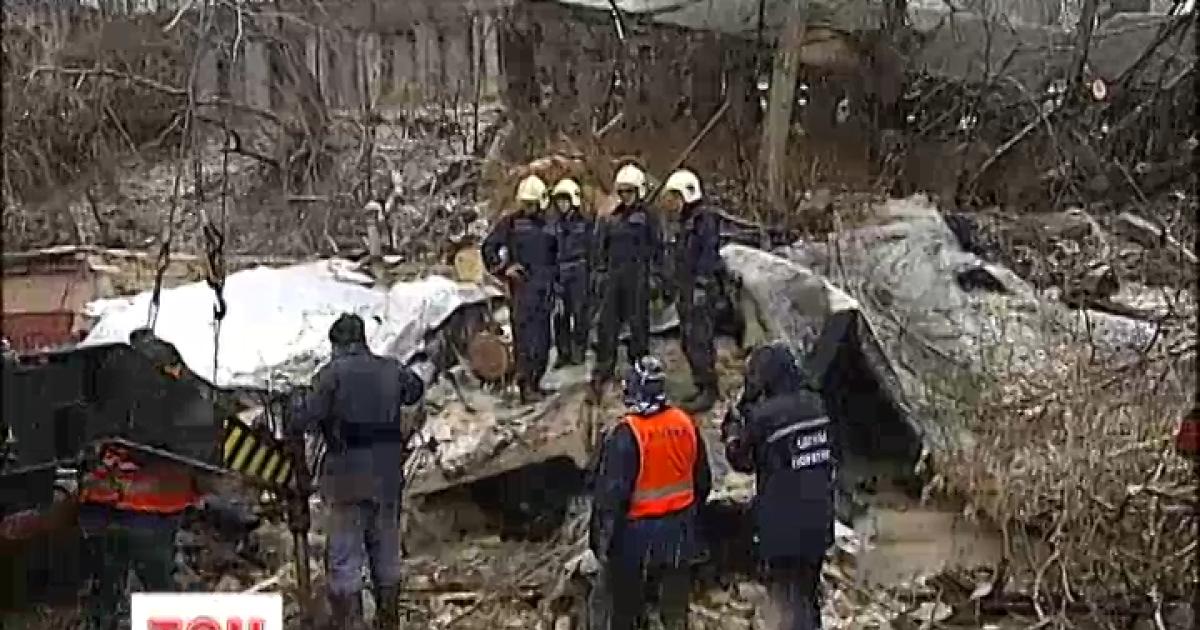 Угрожающий обвал в Киеве показали с высоты птичьего полета