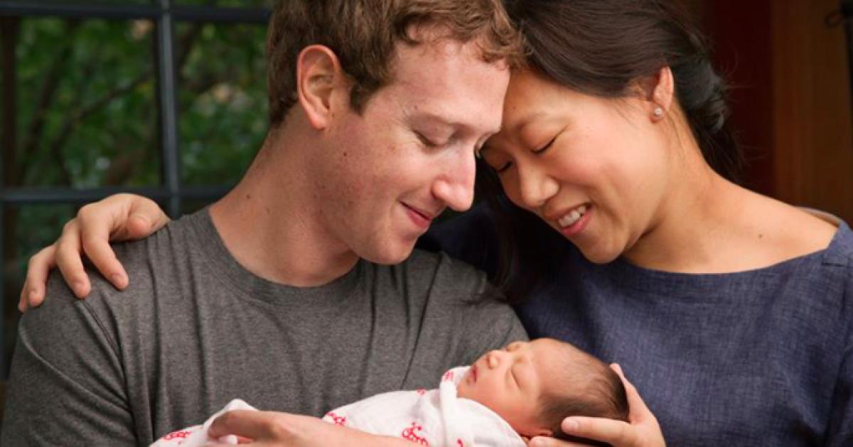 Після народження доньки Цукерберг вирішив віддати $ 45 млрд на благодійність