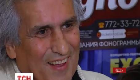 В Украине после долгого перерыва приехал легендарный итальянец Тото Кутуньо