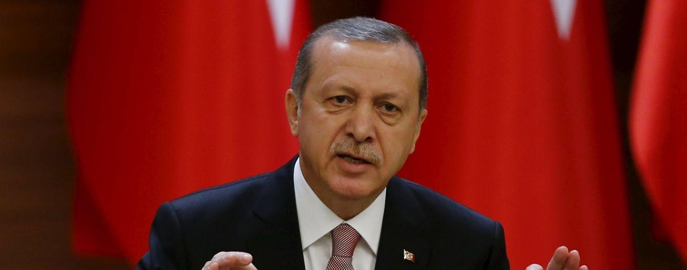 Ердоган назвав розшифровку бортового самописця Су-24 пропагандистським шоу