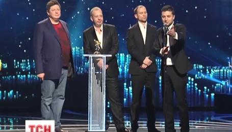 На нынешнем «Телетриумфе» компании группы «1+1 медиа» получили 9 золотых статуэток