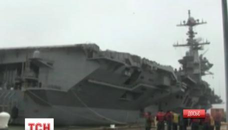 Арсений Яценюк и Степан Полторак сегодня посетят авианосец ВМС США «Гарри Трумэн»