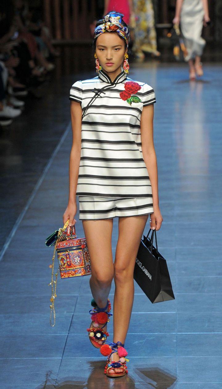 Коллекция Dolce&Gabbana прет-а-порте сезона весна-лето 2016