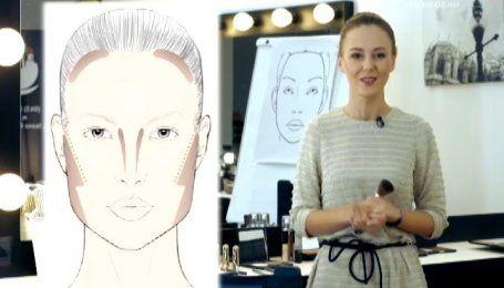 Правила макияжа. Как правильно моделировать лицо