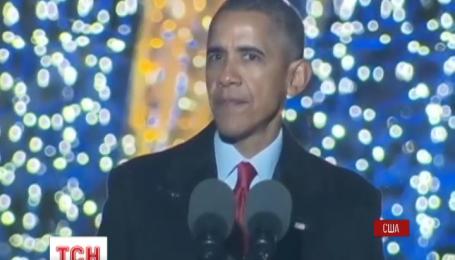 У Вашингтоні засяяла головна новорічна красуня біля Білого Дому