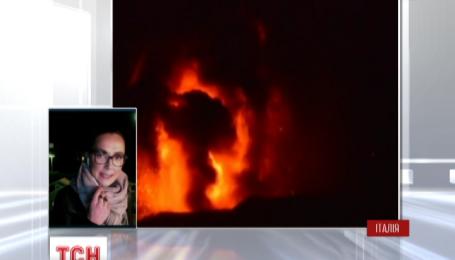 На итальянском острове Сицилия проснулся вулкан Этна