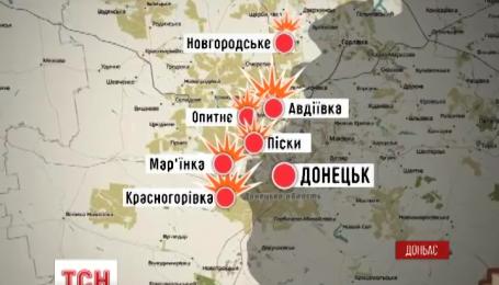 На Донбассе возобновились реальные бои