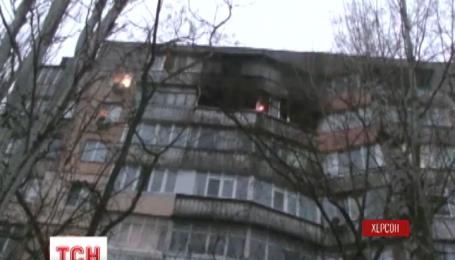Три человека погибли во время пожара в Херсоне