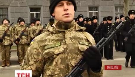 У Миколаєві 346 моряків урочисто присягнули на вірність народу України