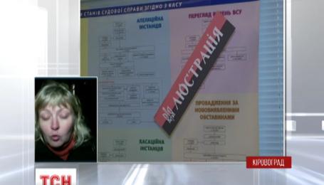 Приміщення Апеляційного суду Кіровоградської області розблокували