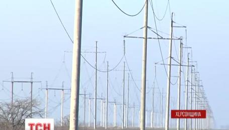 Участники крымской блокады не препятствовали запуску линии Каховская-Титан