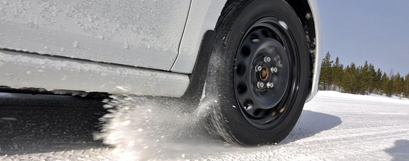 """""""Укравтодор"""" попередив про заморозки і нагадав водіям про зимові шини"""