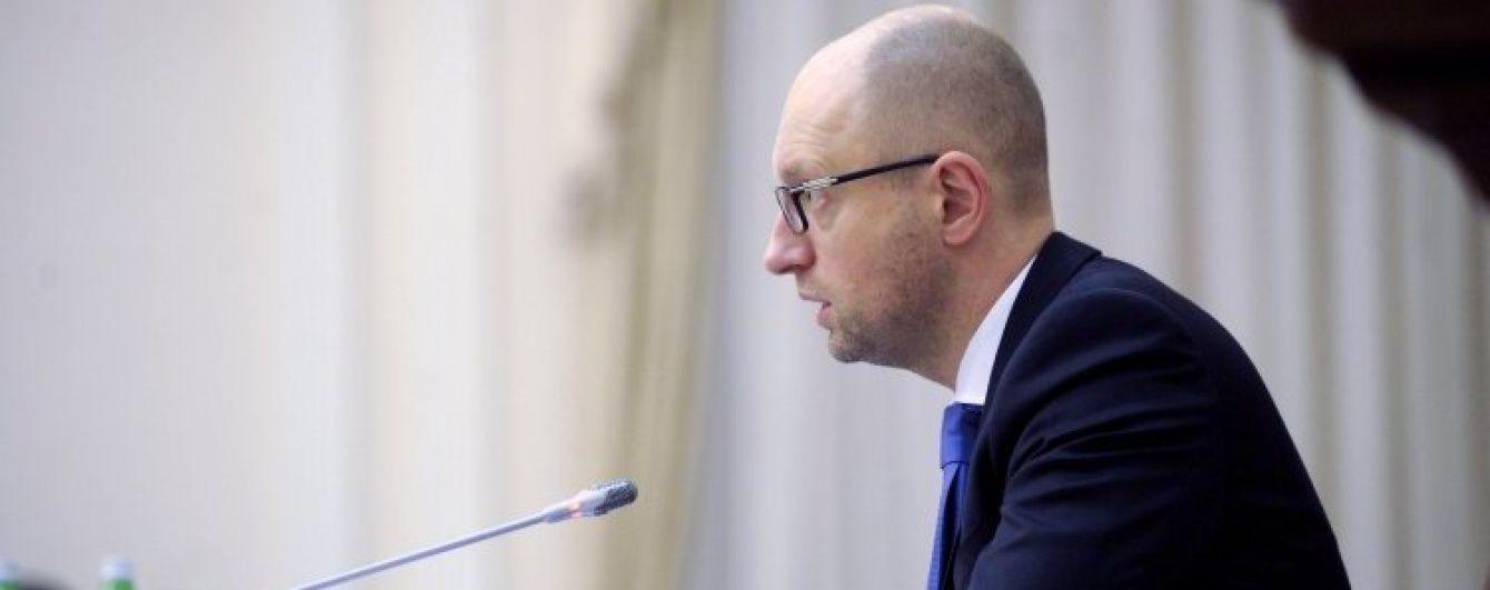 Яценюк доручив розширити список санкційних товарів з РФ