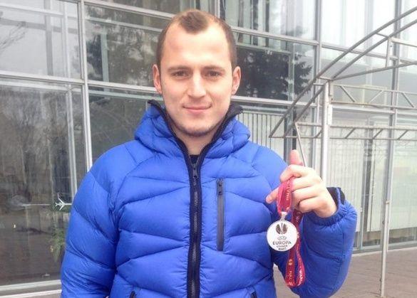 Роман Зозуля медаль