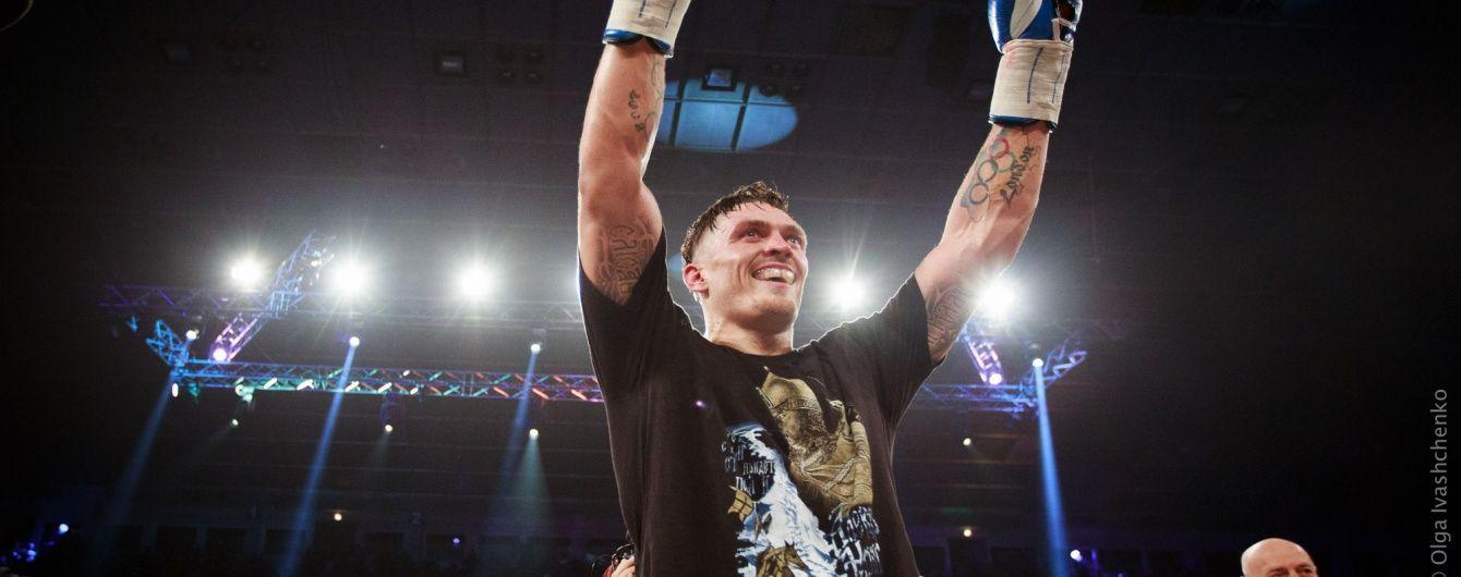 Британський телеканал визнав українця Усика найперспективнішим боксером світу