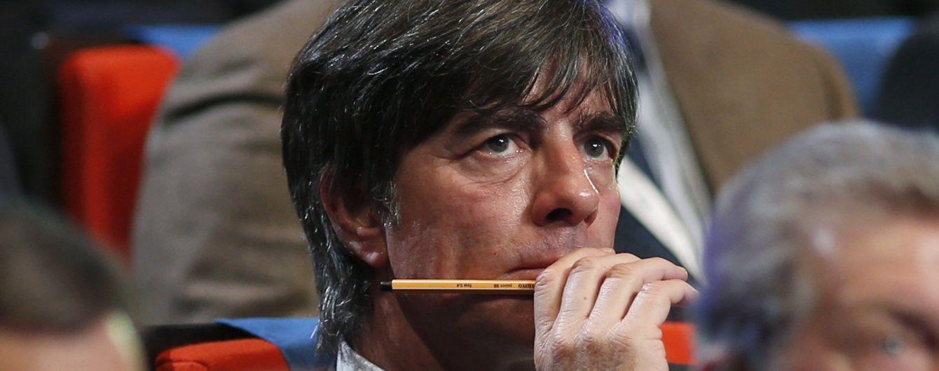 Тренер збірної Німеччини заявив, що побоюється українських контратак на Євро-2016