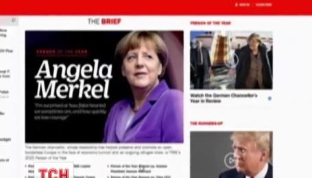 Людиною року за версією журналу Time стала Ангела Меркель