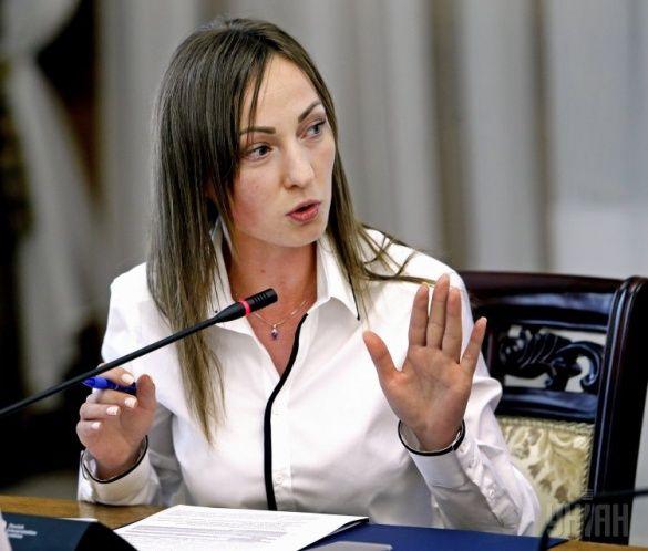 Нардеп Ірина Суслова