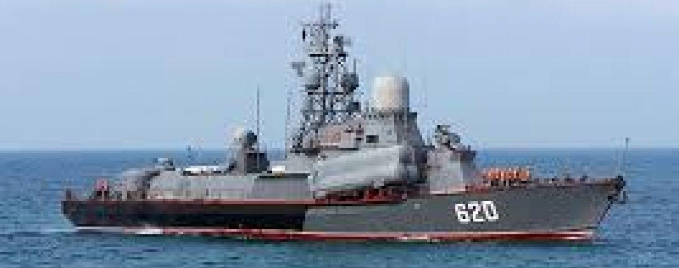 Ракетний катер РФ змусив турецький корабель змінити курс