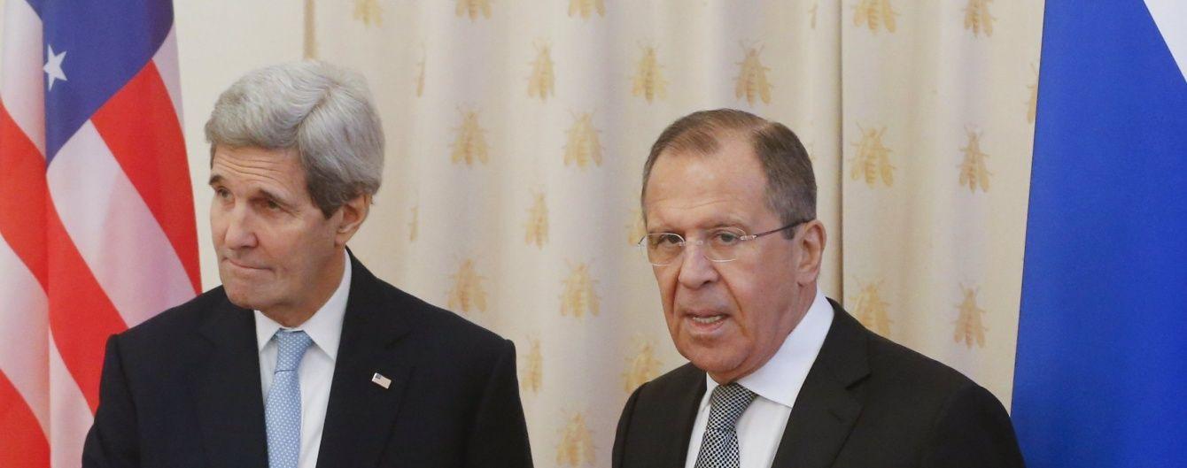 Керрі з Лавровим попередньо домовилися про перемир'я в Сирії