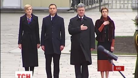 Президент Польши Дуда прибыл с официальным визитом в Киев