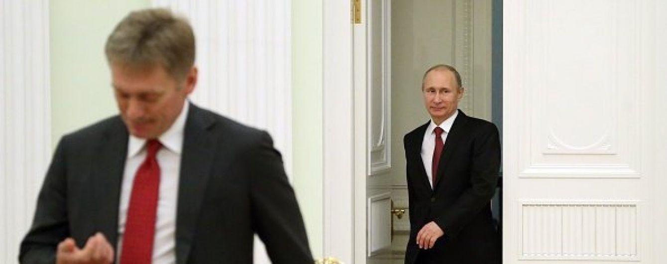 Неправильне трактування. Пєсков відхрестився від присутності військ РФ на Донбасі