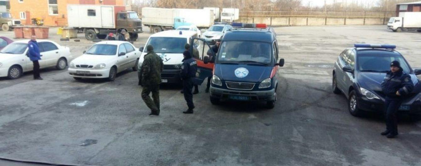 У Дніпропетровську підірвали гранату у відділенні пошти