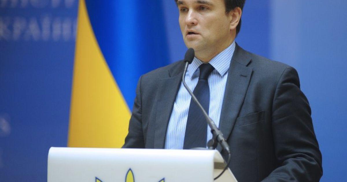 Климкин назвал условия проведения местных выборов на Донбассе