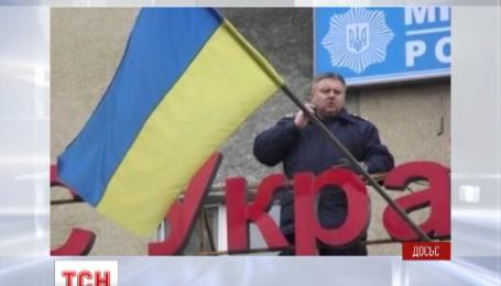 Главой киевской полиции стал Андрей Крищенко, который защищал украинский флаг в Горловке