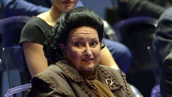 Померла легендарна співачка Монсеррат Кабальє