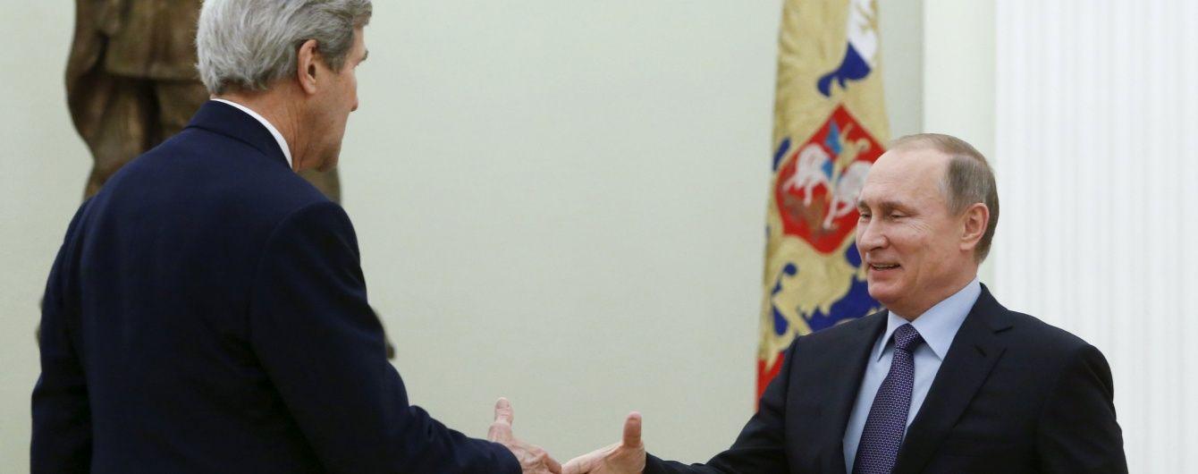 Керрі після переговорів з Путіним побачив можливість врегулювання конфлікту на Донбасі