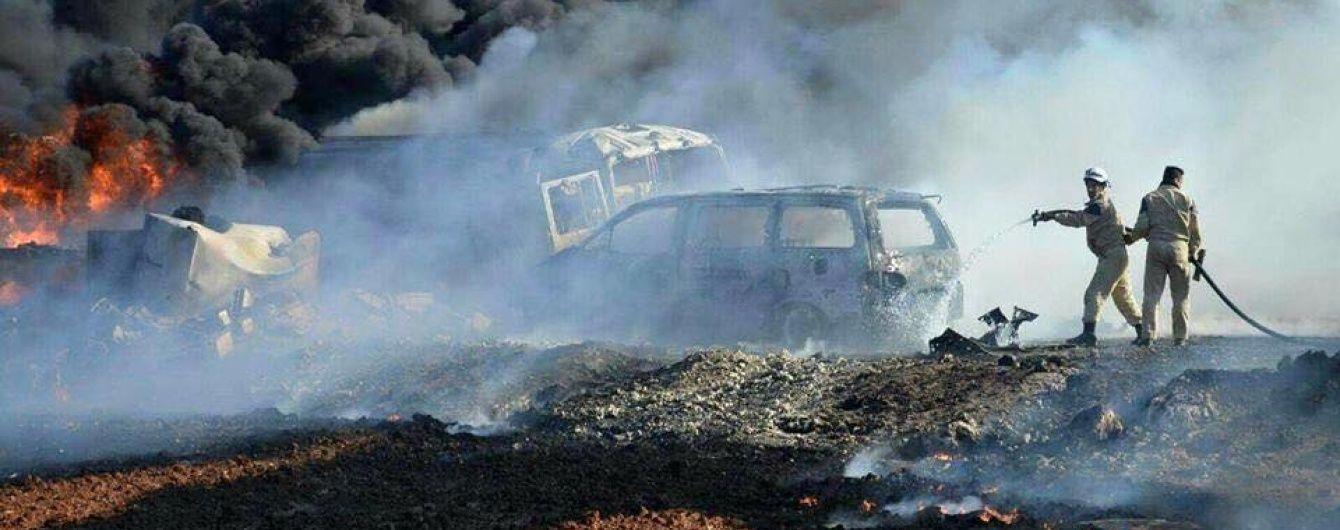 У Сирії внаслідок авіаударів по ринках загинули понад 30 цивільних