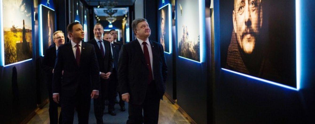 Порошенко та Дуда виступлять зі спільною заявою на День незалежності